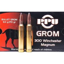 CARTUCCE CALIBRO 300 WINCHESTER MAGNUM 170 Grom