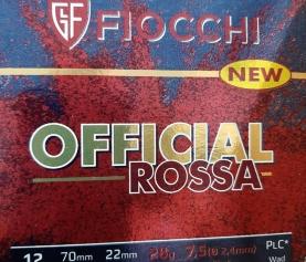 Novità assoluta… Fiocchi Official rossa!