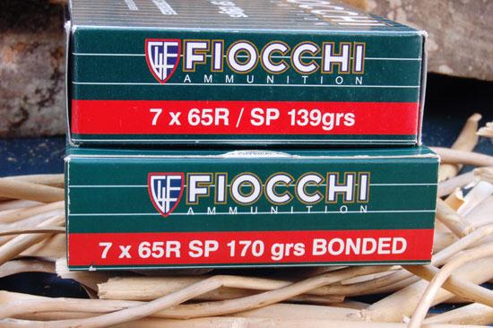 cartucce fiocchi calibro 7X65R SP 139 Grain