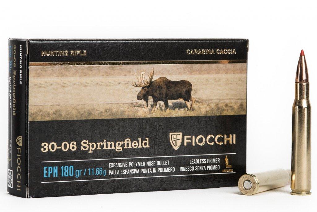 CARTUCCE FIOCCHI CALIBRO 30 – 06 EPN 180 GRAIN