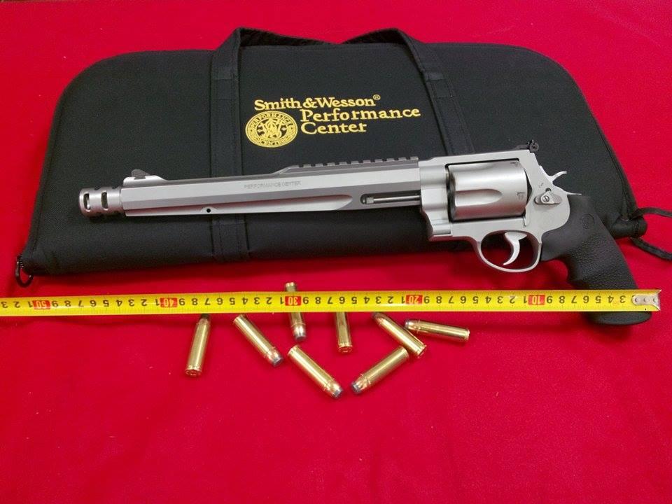 Smith & Wesson modello performance 10,5″ calibro 500 S&W Magnum