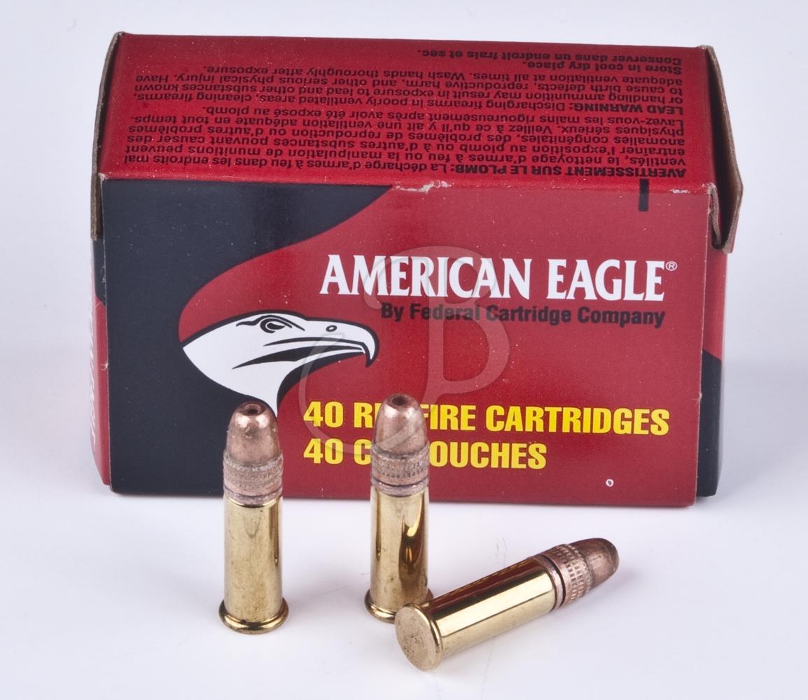 cartucce federal calibro 22 lr 38 grain