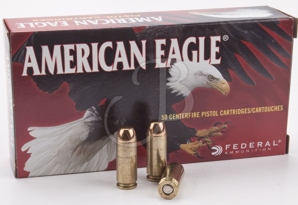 cartucce Federal American Eagle calibro 10 mm auto FMJ 180 Grain