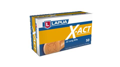 cartucce lapua x – act calibro 22 lr