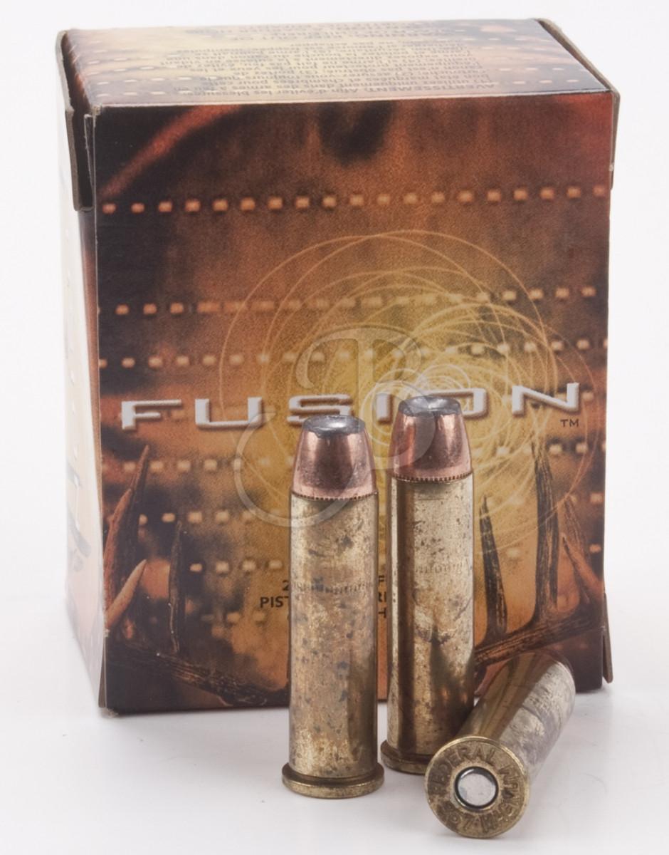 CArtucce federal fusion calibro 460 S&W 260 grain