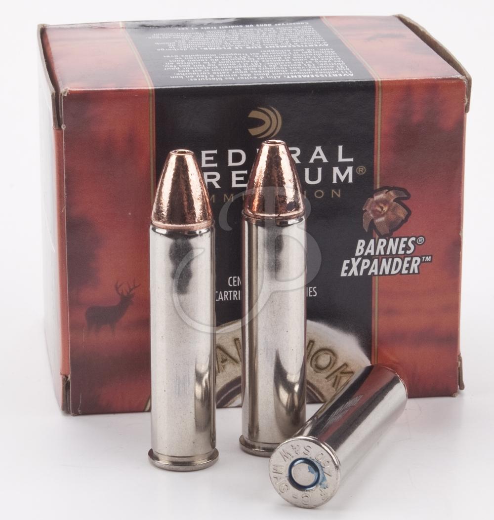 cartucce FEDERAL PREMIUM calibro 460 S&W Magnum barnes EXP 275 grain