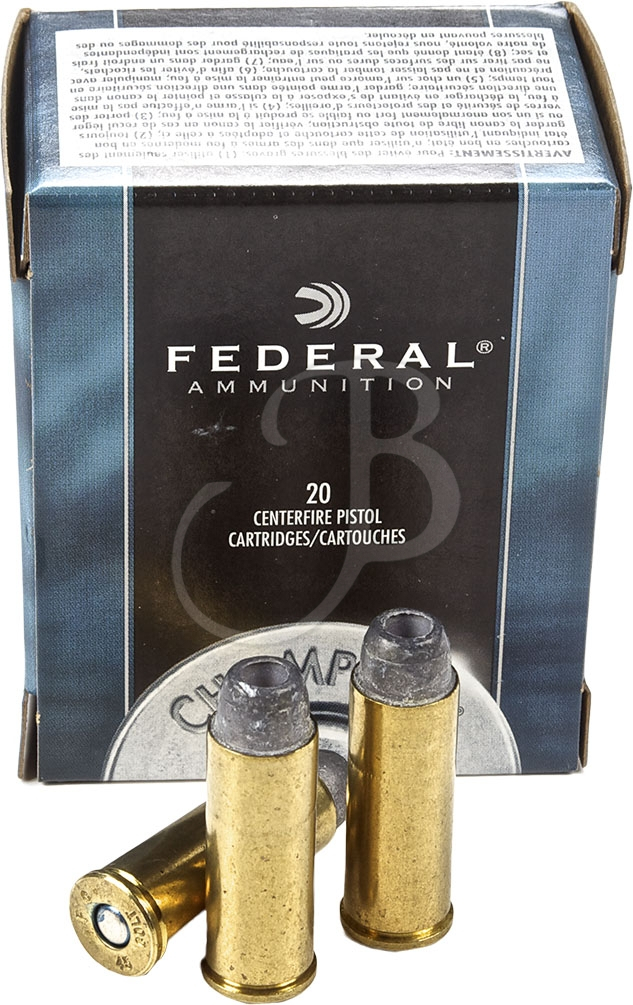 cartucce federal calibro 45 long colt LSWC HP 225 Grain
