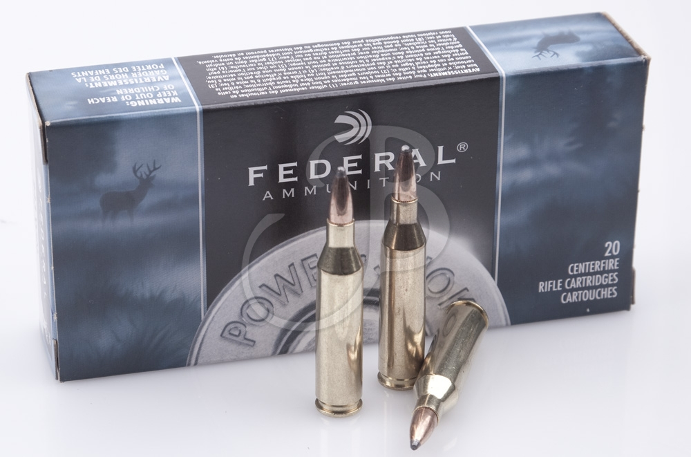 cartucce federal calibro 243 Winchester Soft Point 80 Grain