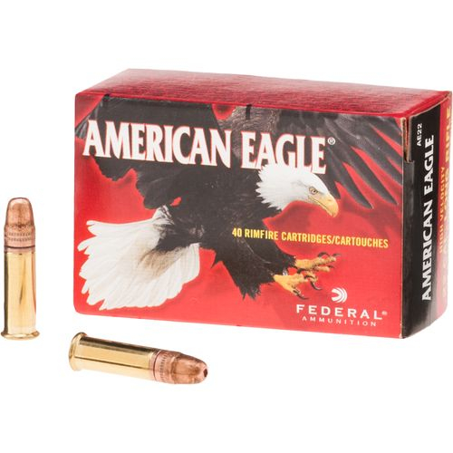cartucce federal calibro 22 lr 38 grain