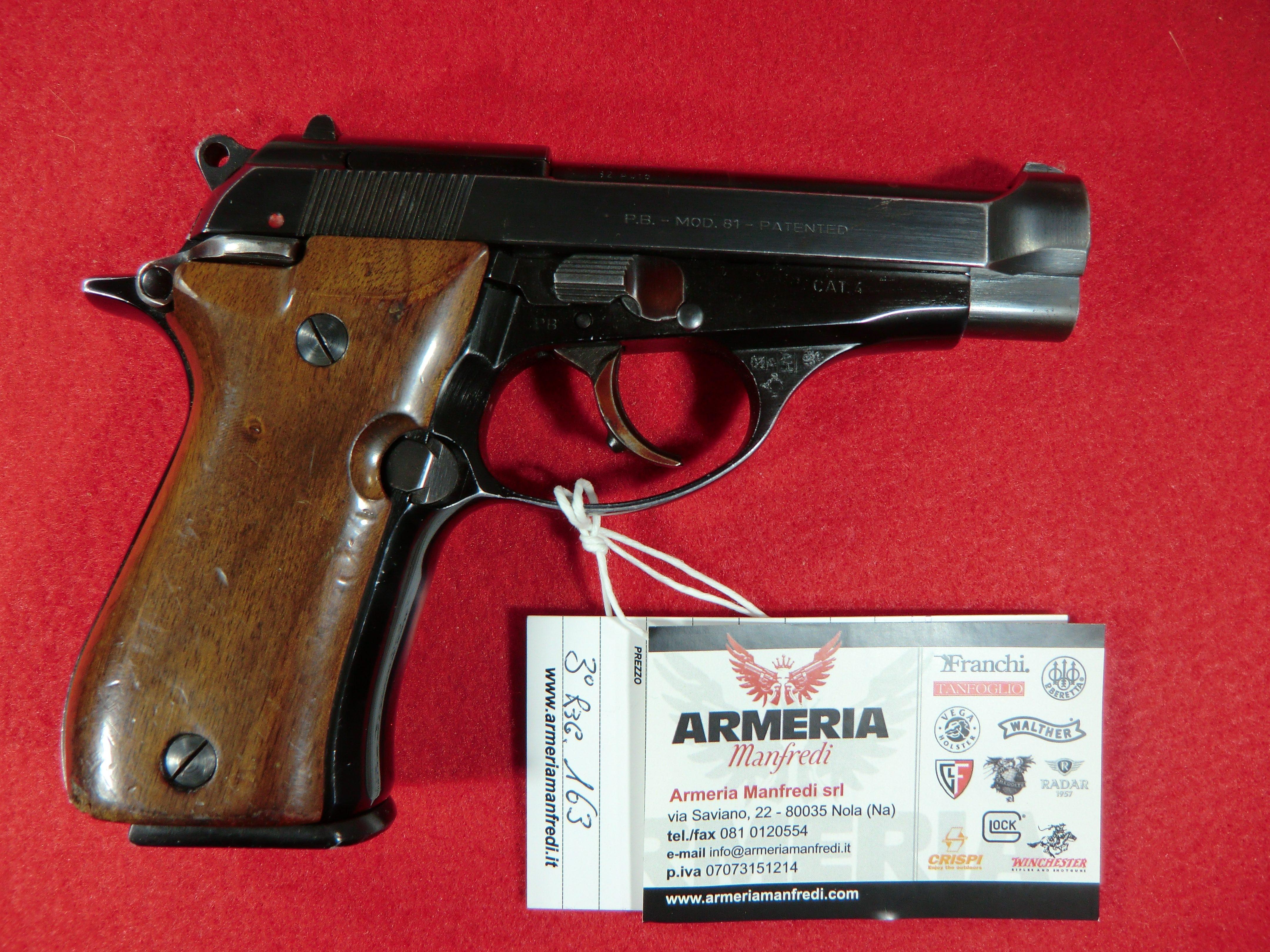 Beretta modello 81 calibro 7.65