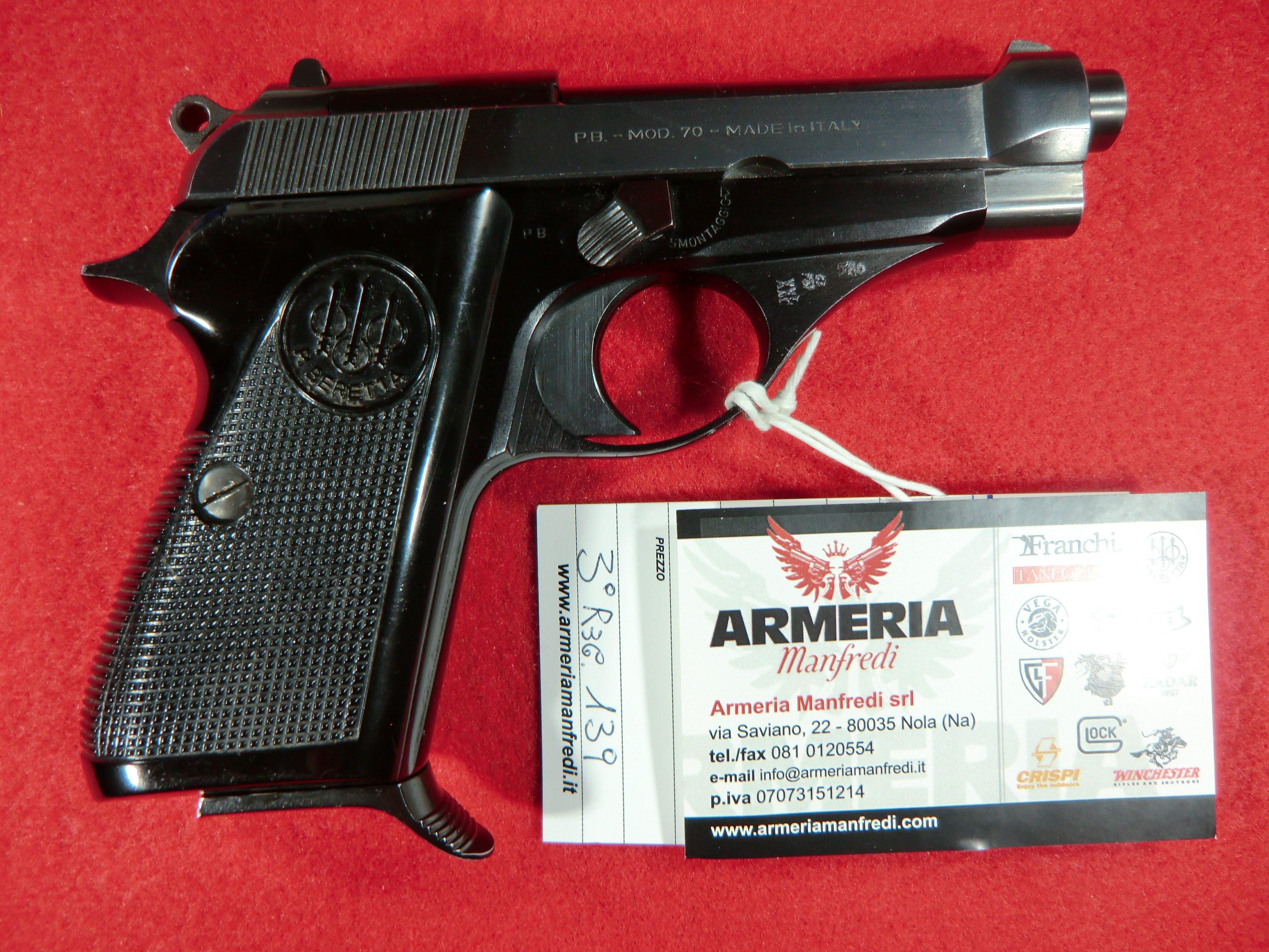 Beretta modello 70 calibro 7.65