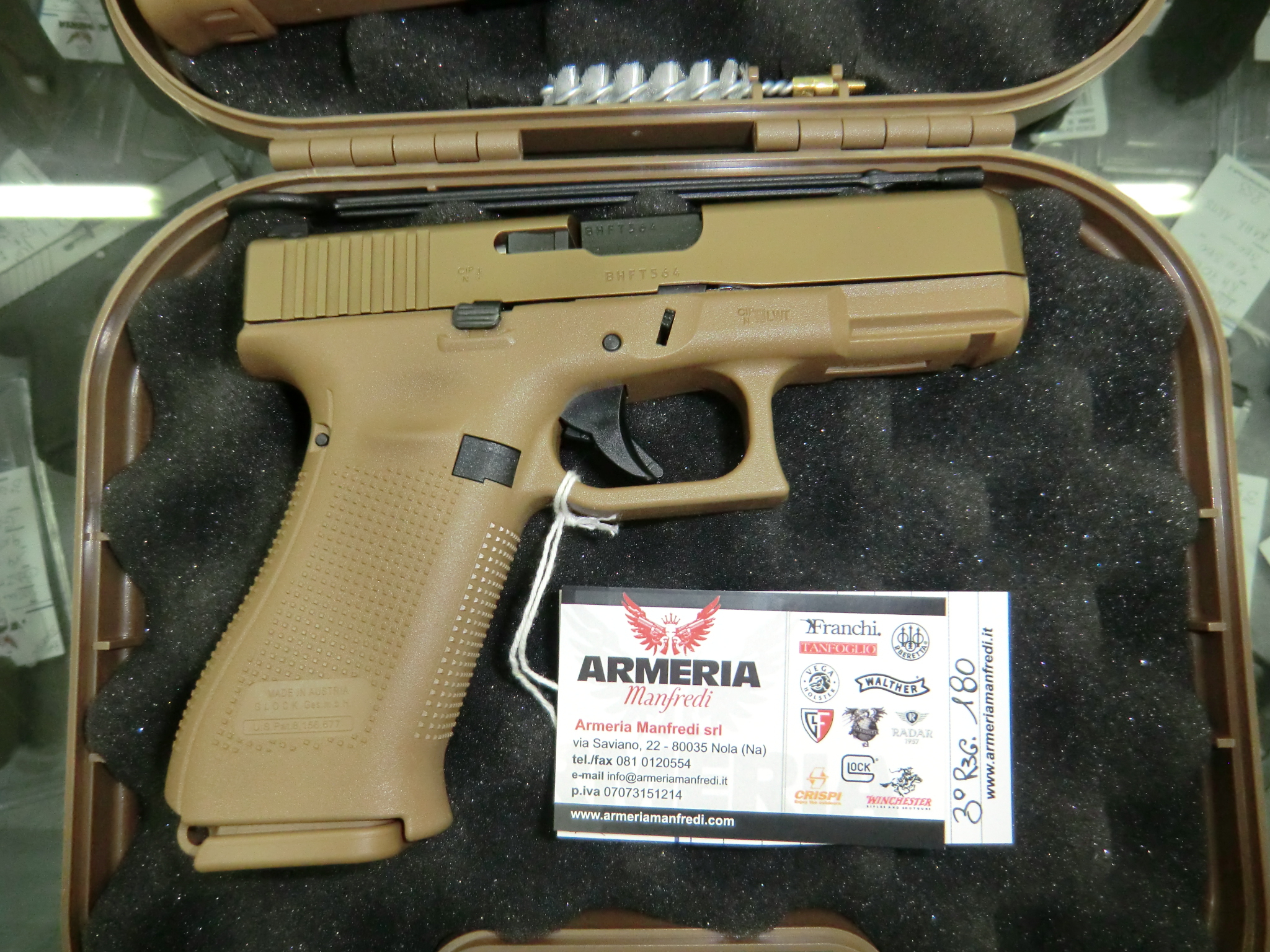 Glock modello 19 X FDE SPORT calibro 9×21