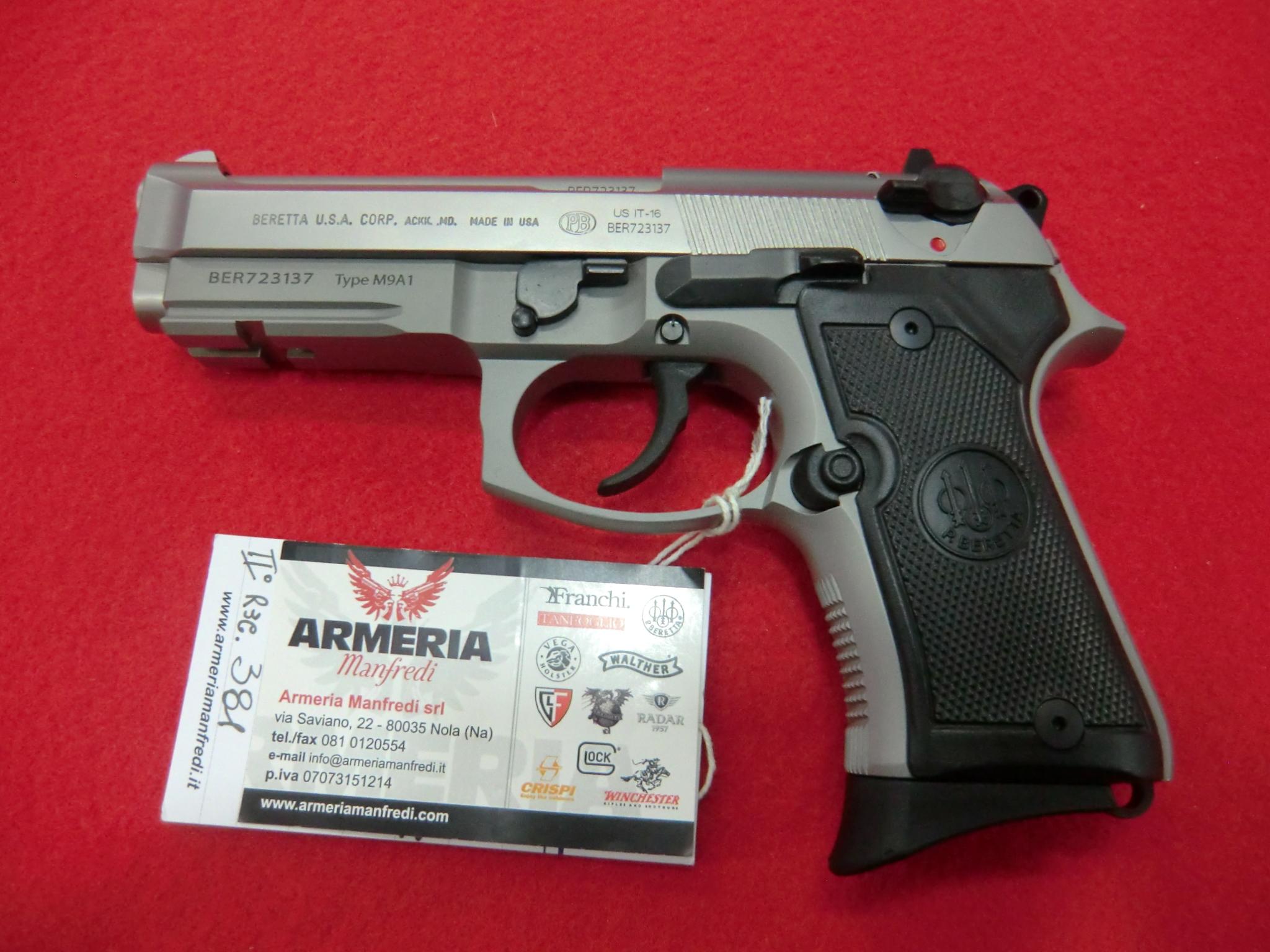 Beretta  modello M9A1-92 FS Compact calibro 9×21
