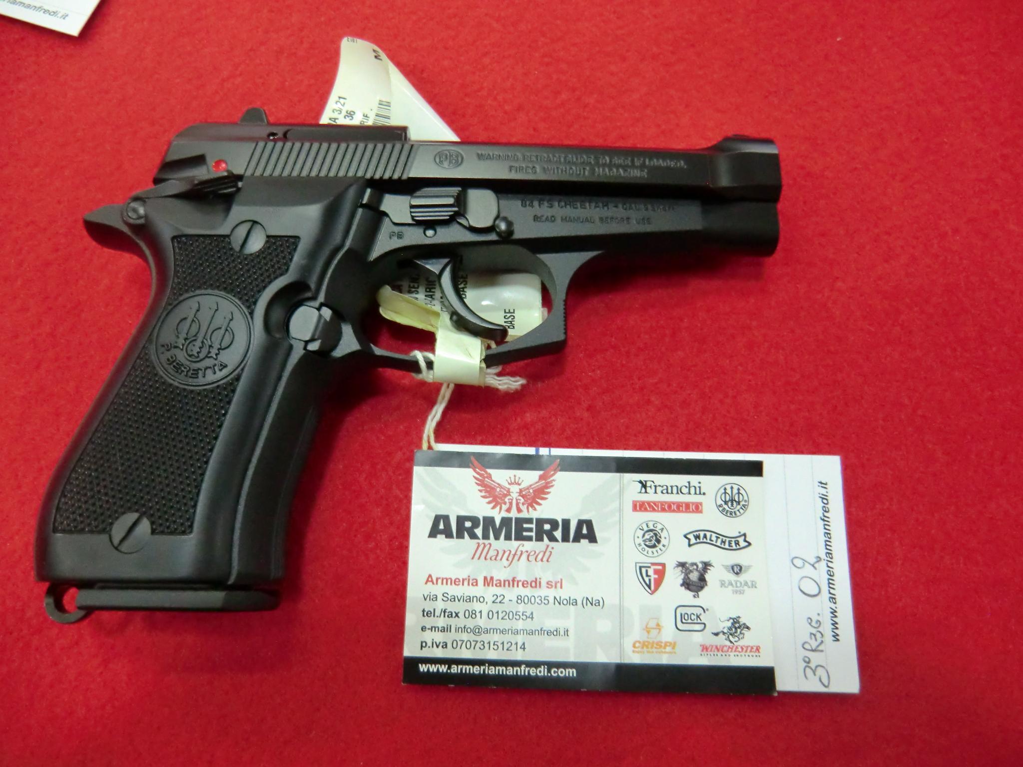 Beretta modello 84 FS calibro 380