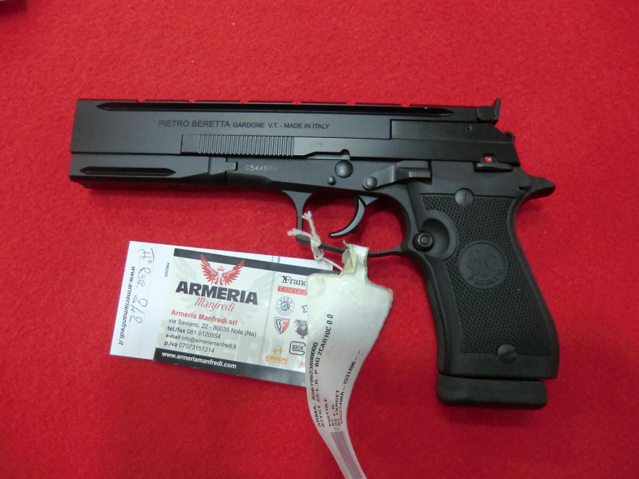 Beretta modello 87 Target calibro 22 LR