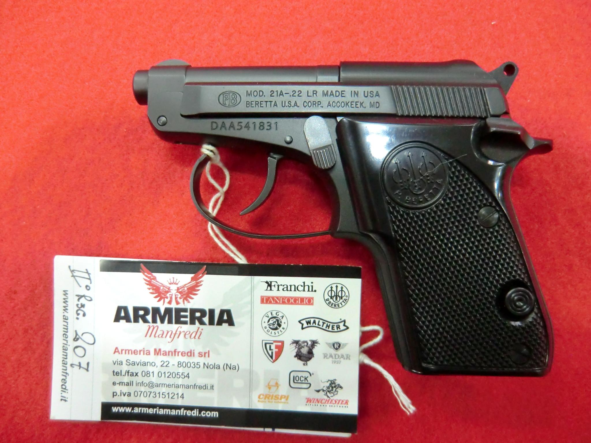 Beretta modello 21-A calibro 22LR