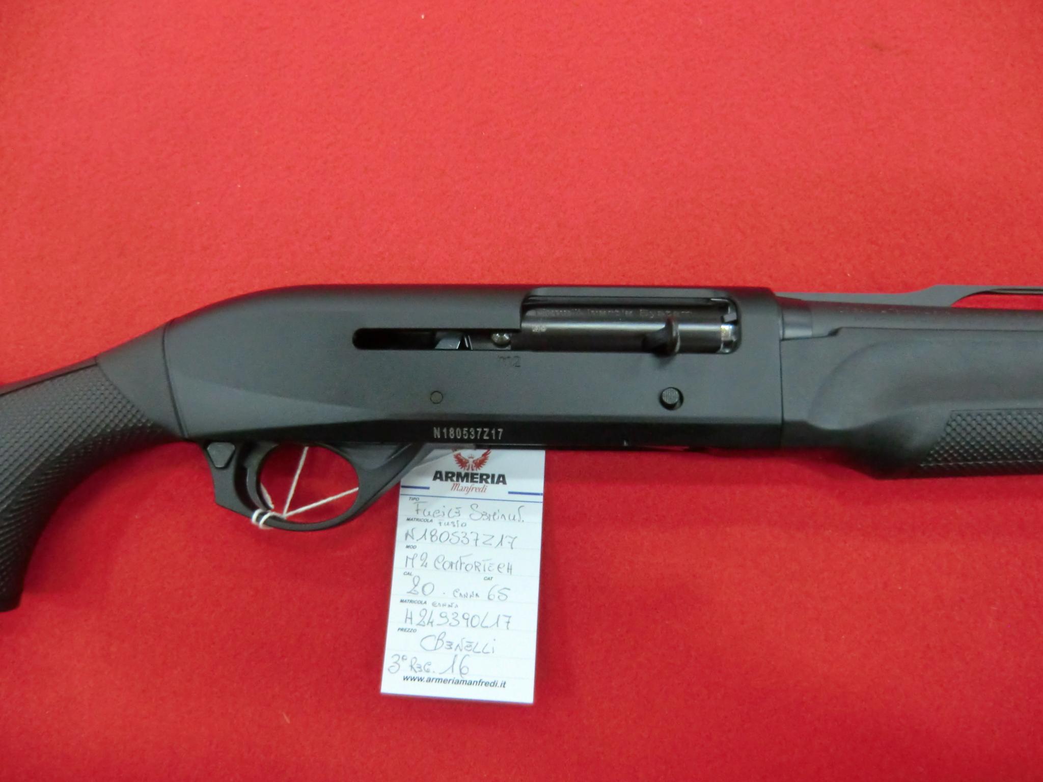 Benelli M2 Comfortech calibro 20 canne 66 cm constrozzatori