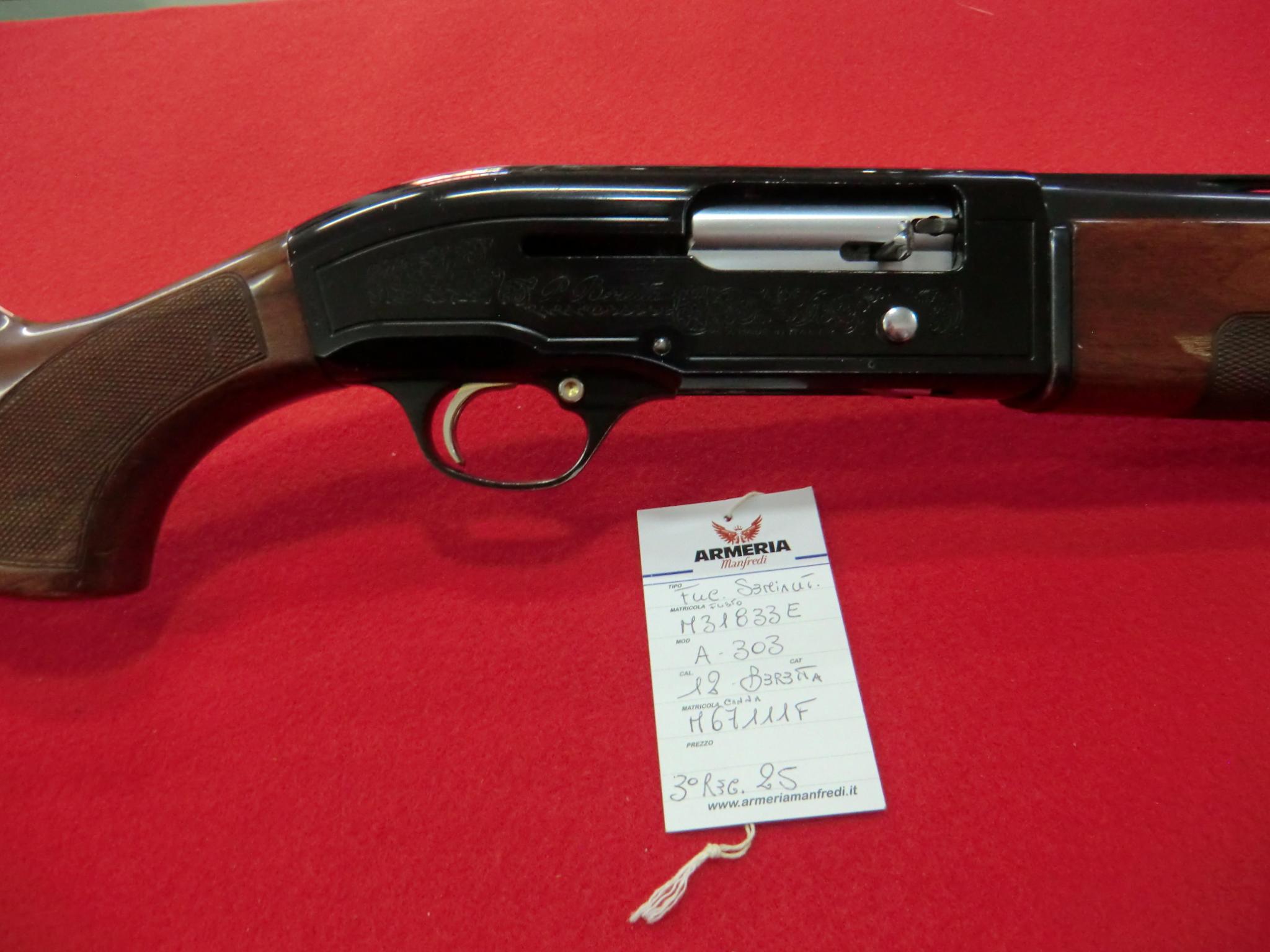 Beretta modello A 303 calibro 12 canna 71