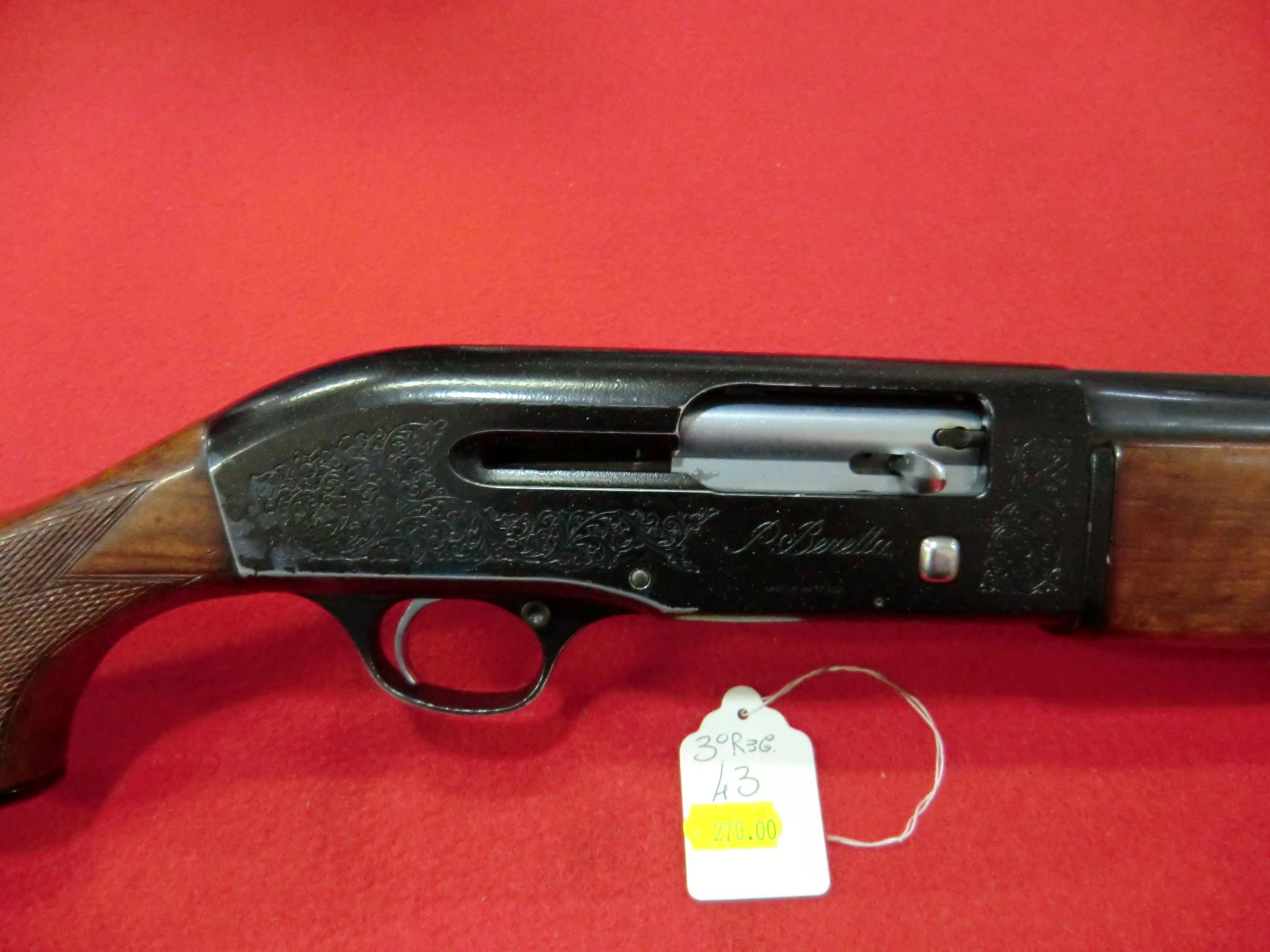 Beretta modello A 301 calibro 12 canna 60 cm con strozzatori esterni