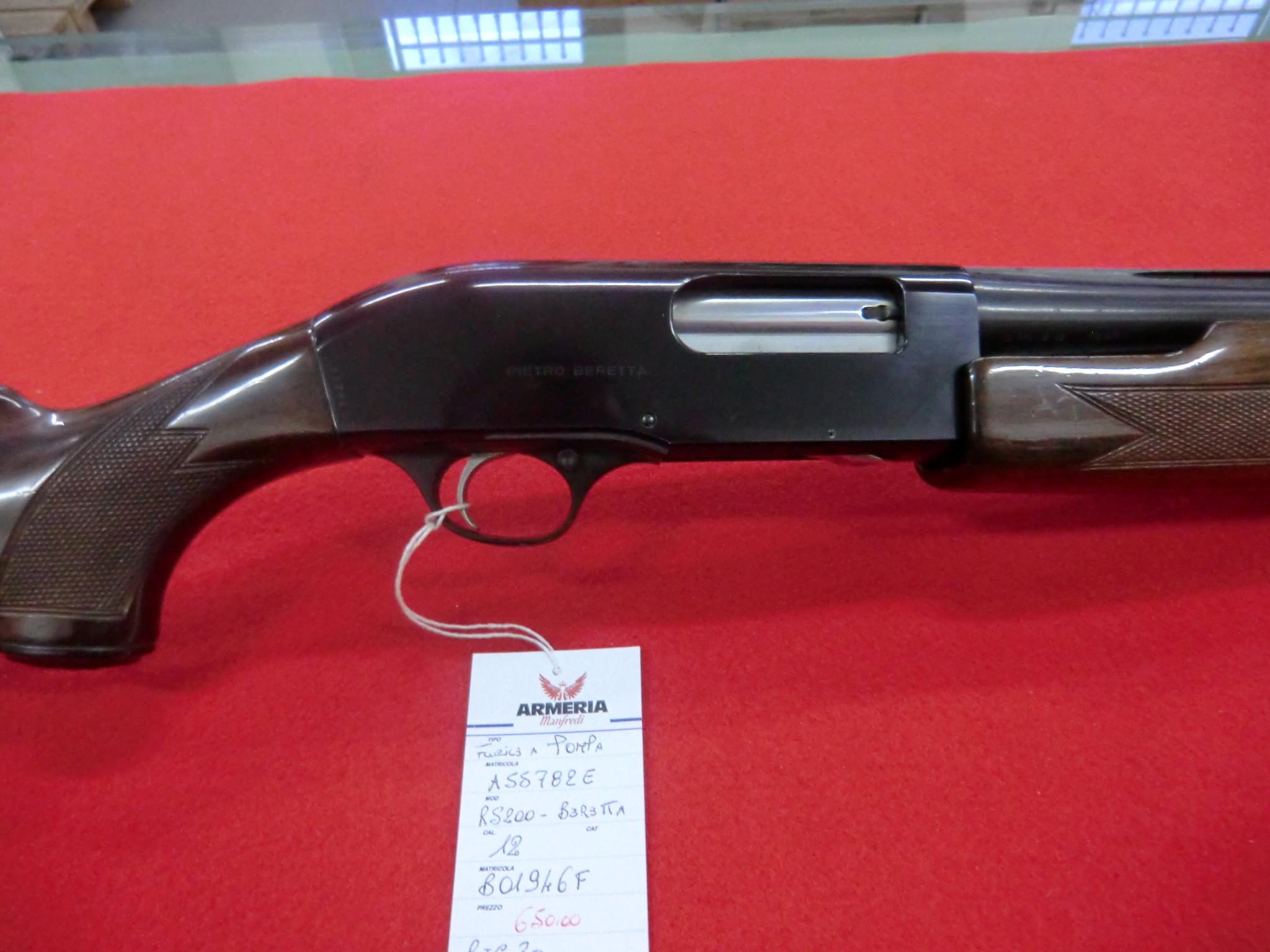 Beretta modello Rs 200 calibro 12 a pompa