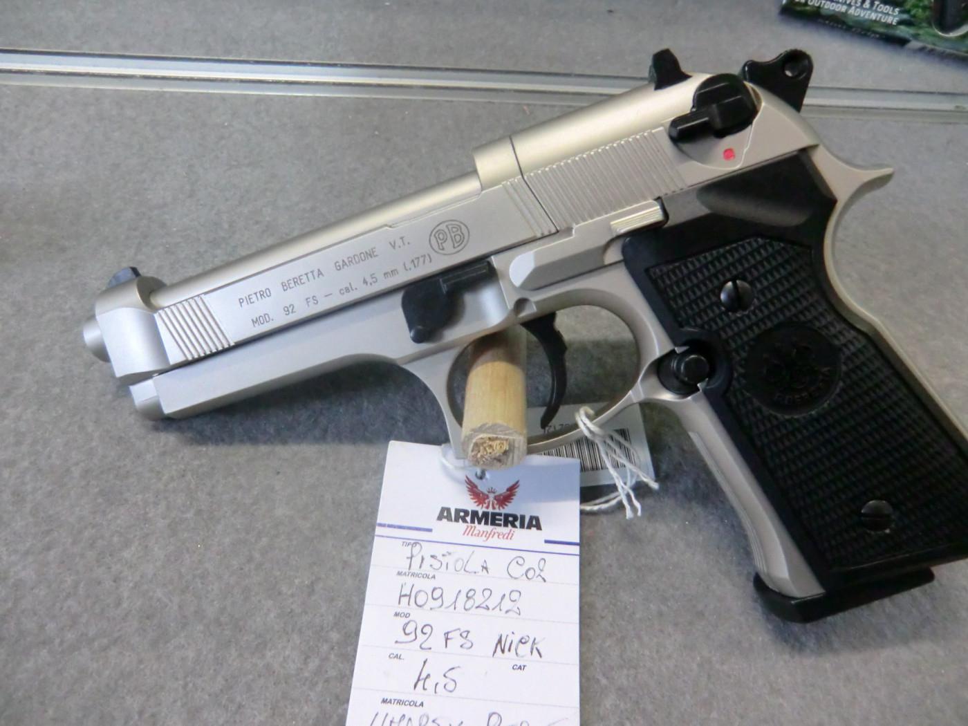 Beretta-umarex modello 92 FS calibro 4.5