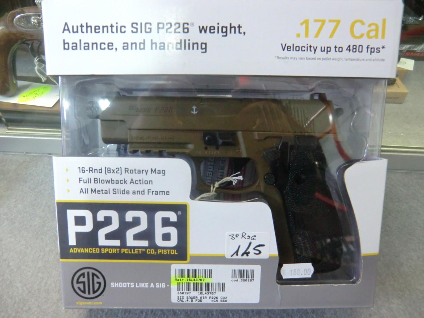 Sig Sauer modello P226 calibro 4.5