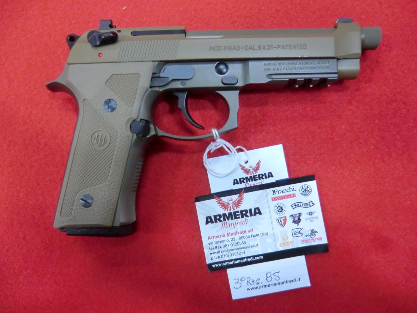 BERETTA modello M9 A3 calibro 9X21