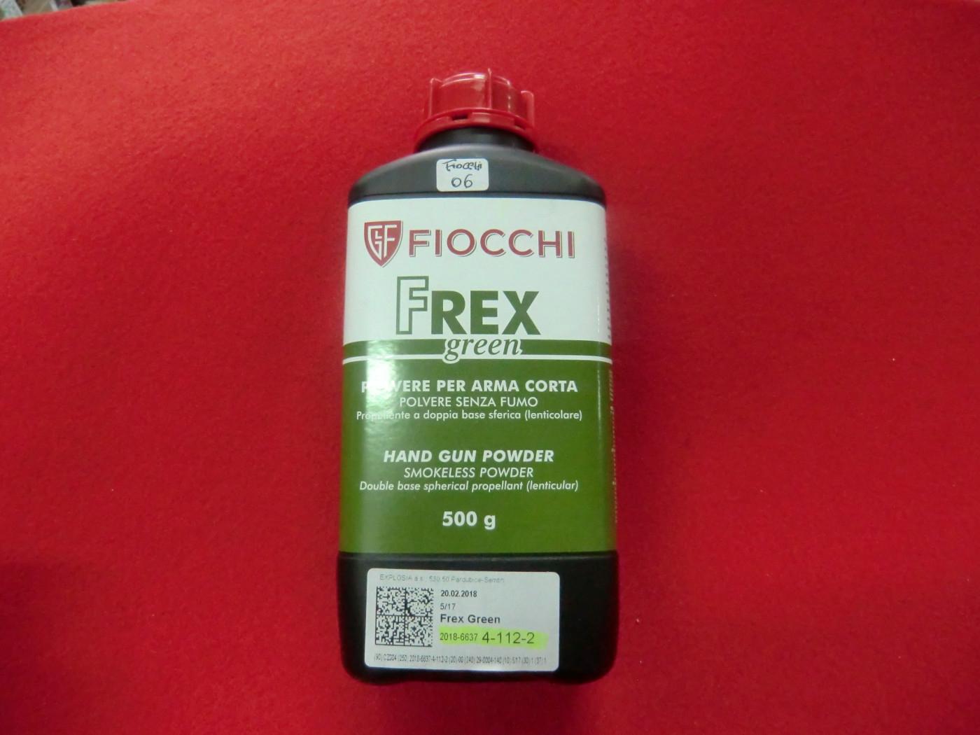 polvere fiocchi frex green