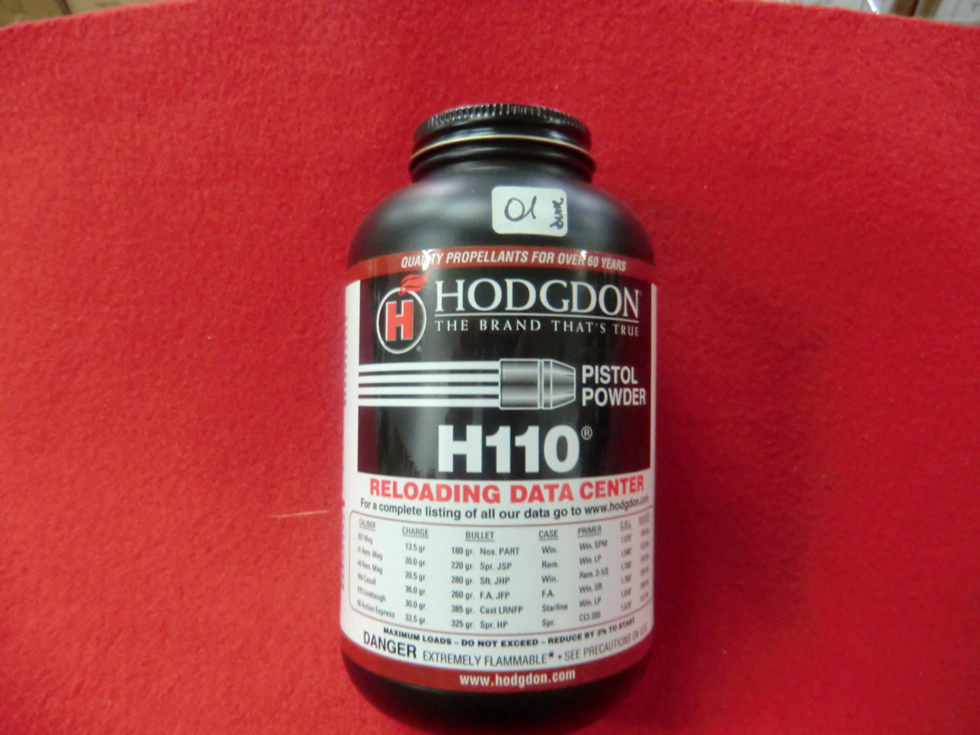 polvere imr h 110