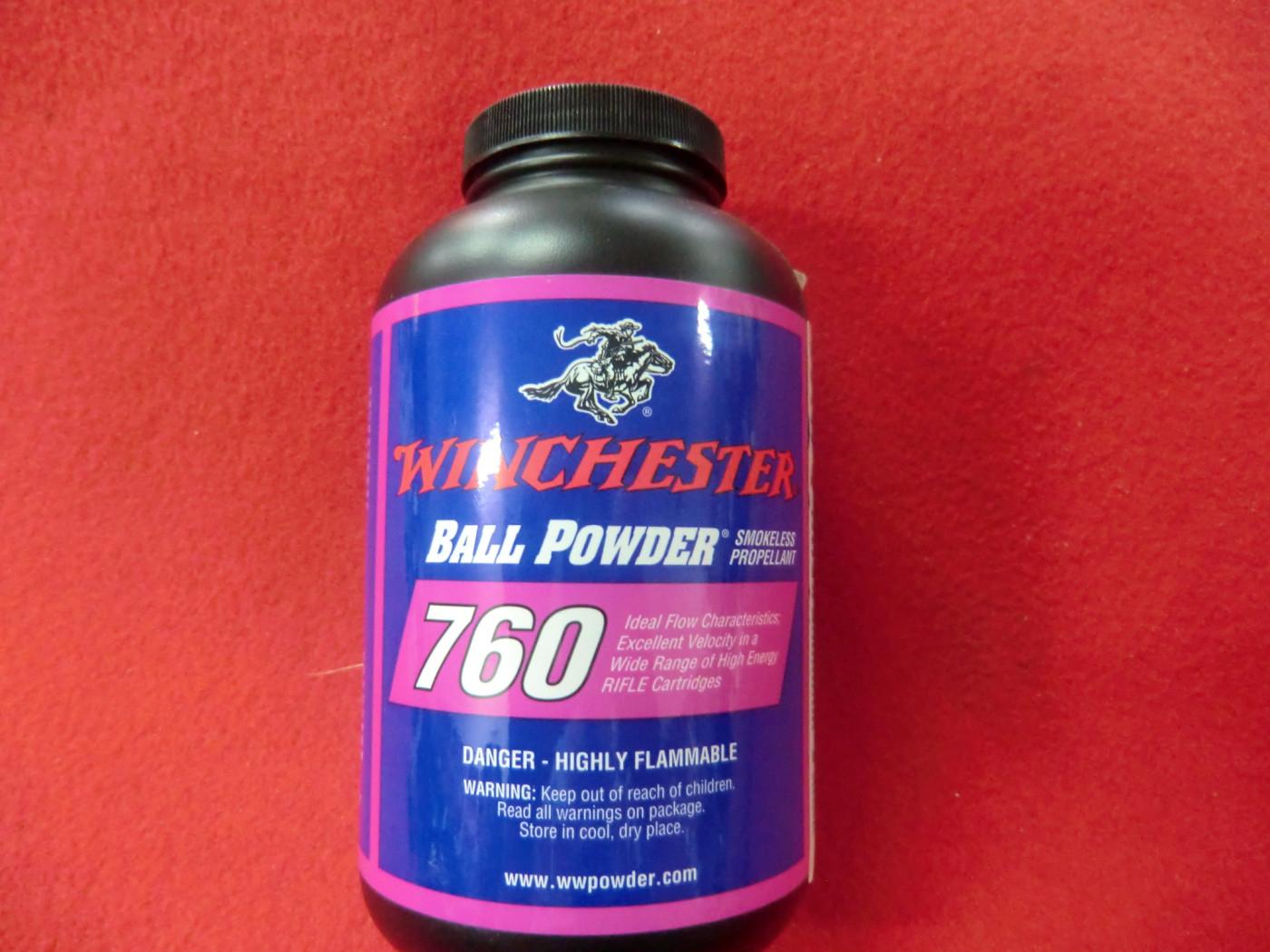 polvere winchester 760