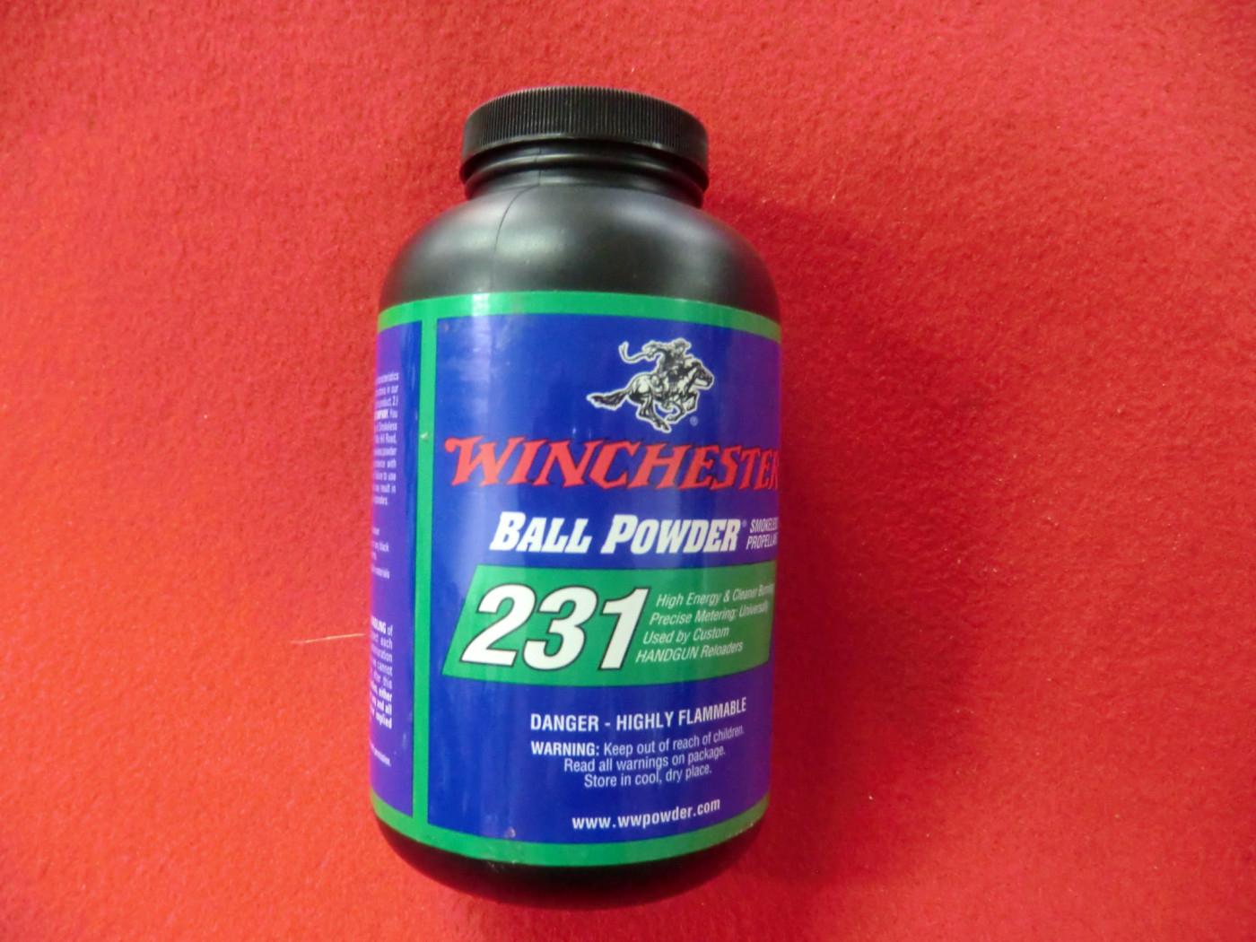 polvere winchester 231