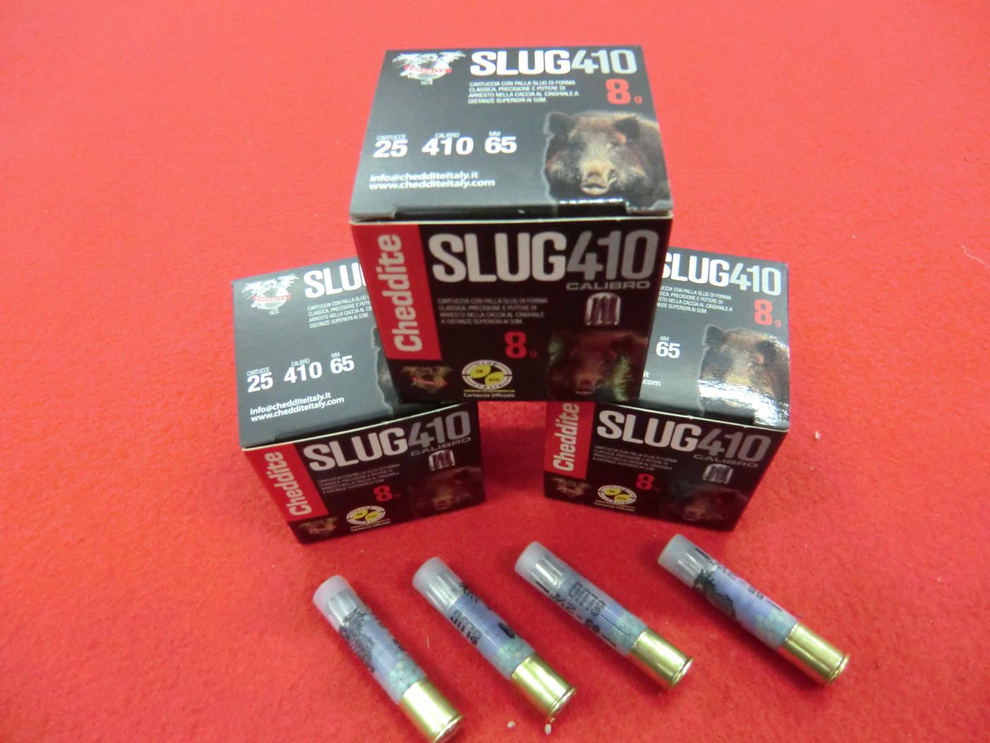Cartucce CHEDDITE Slug calibro 410