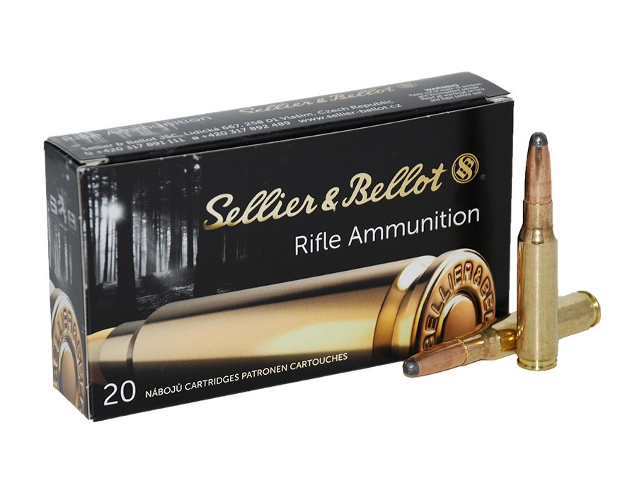 CARTUCCE SELLIER & BELLOT CALIBRO 308 WINCHESTER SP 180 GRAIN
