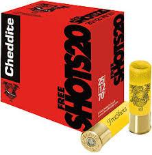CARTUCCE CHEDDITE FREE SHOTS 20