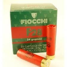 fiocchi calibro 28 F28 grammi 24 piombo 7 1/2