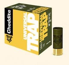 cheddite universal trap grammi 24 piombo 7 1/2