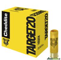 cheddite calibro 20 target 24 grammi piombo 7 1/2