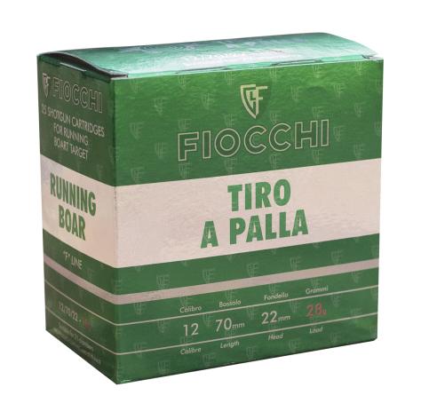 CARTUCCE FIOCCHI CALIBRO 20 TIPO TIRO A PALLA