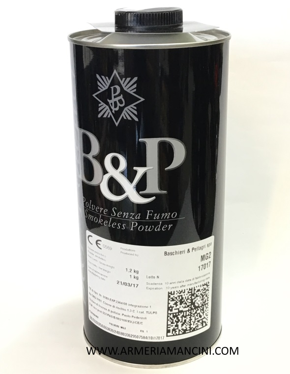 polvere B&P mg2