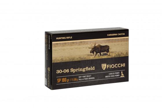 CARTUCCE FIOCCHI CALIBRO 30 – 06 SP 180 Grain