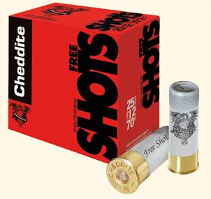 CARTUCCE CHEDDITE FREE SHOTS